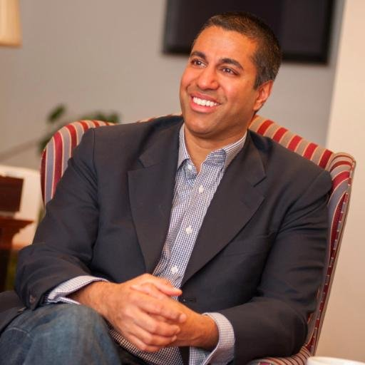 Ajit Pai is the Indian-American commissioner of the FCC