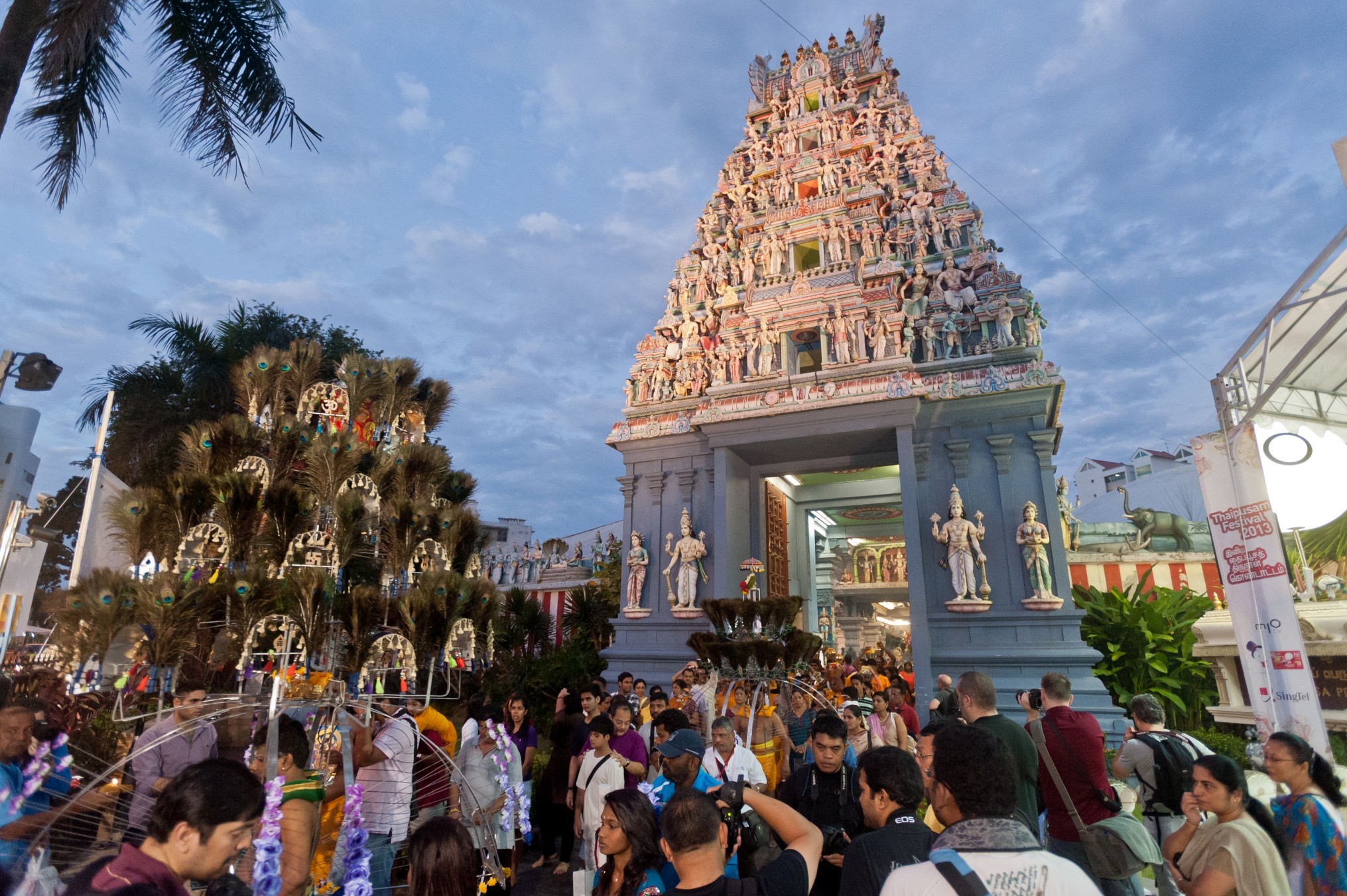 Thaipusam is a thanksgiving festival that involves asceticism and control over one's senses.