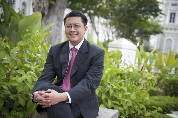 Eugene Tan, an associate professor of law at the Singapore Management University