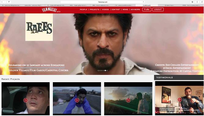 Shah Rukh Khan starring Raees