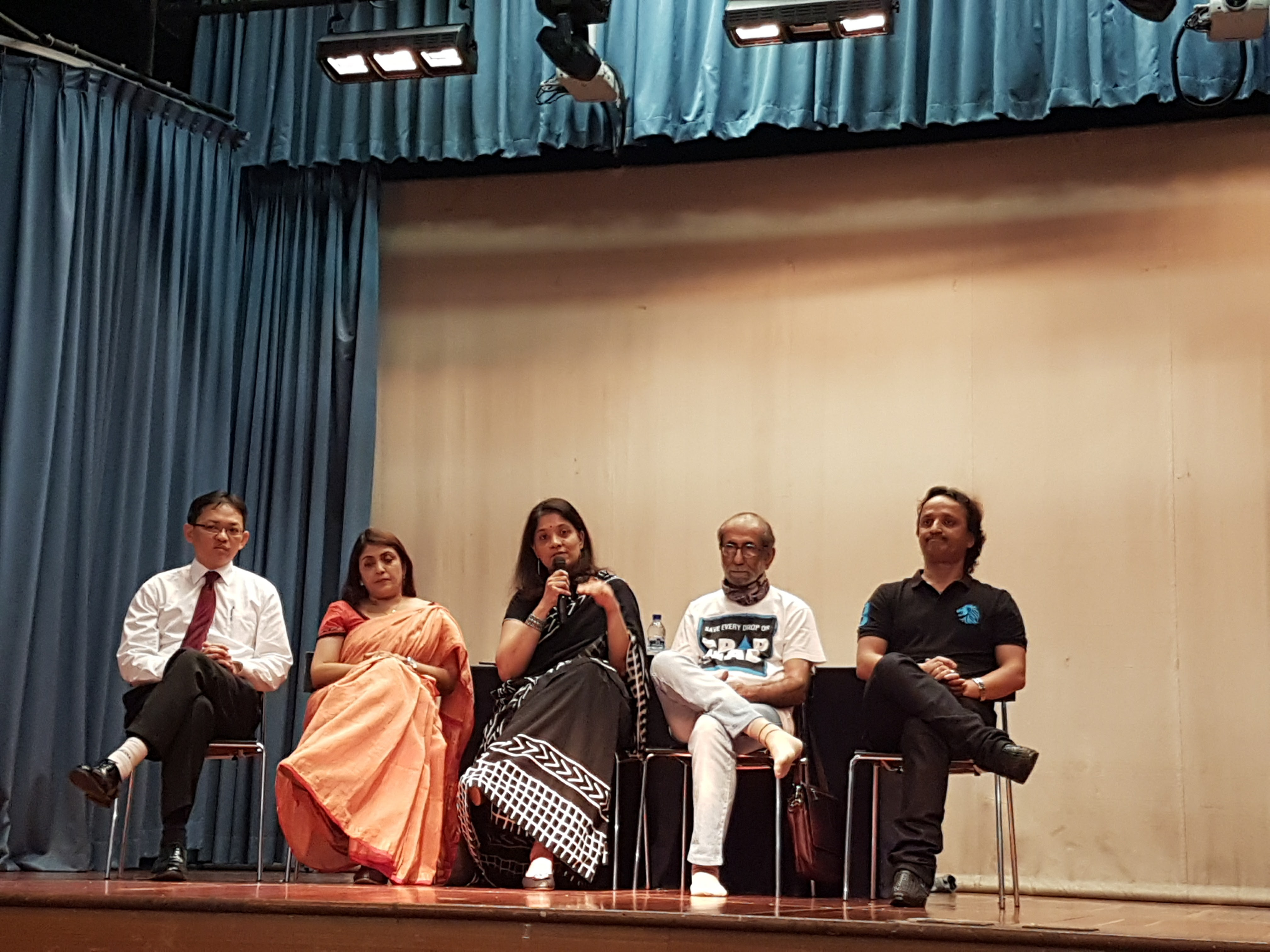 Panel discussion during Prerna award function.