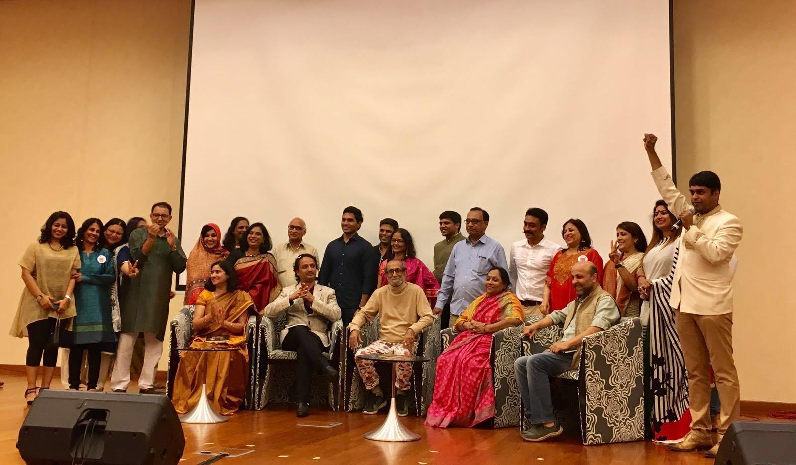 Entire team of Prerna award