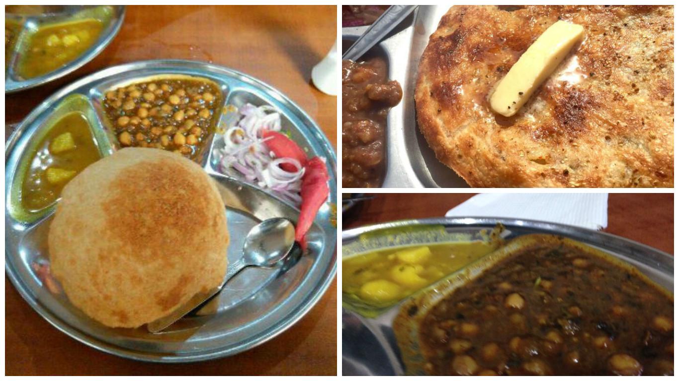 Breakfast options in Amritsar