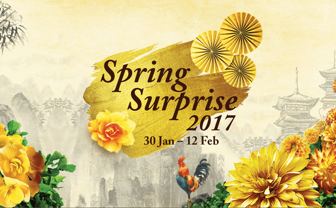 Celebrate Chinese New Year at Gardens by the Bay's Spring Surprise 2017