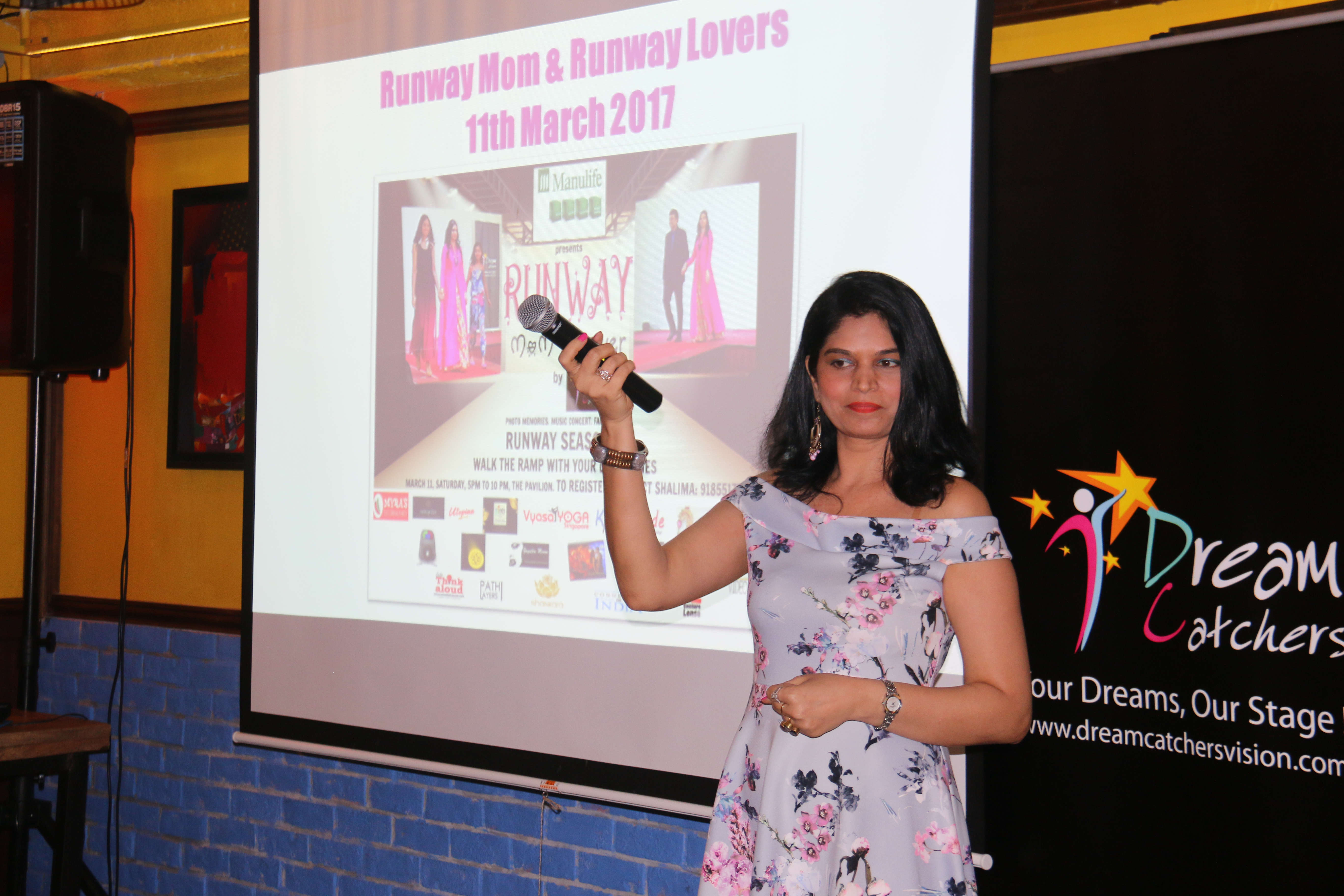 Indian Singaporean Shalima Motial, the founder and CEO of Dream Catchers