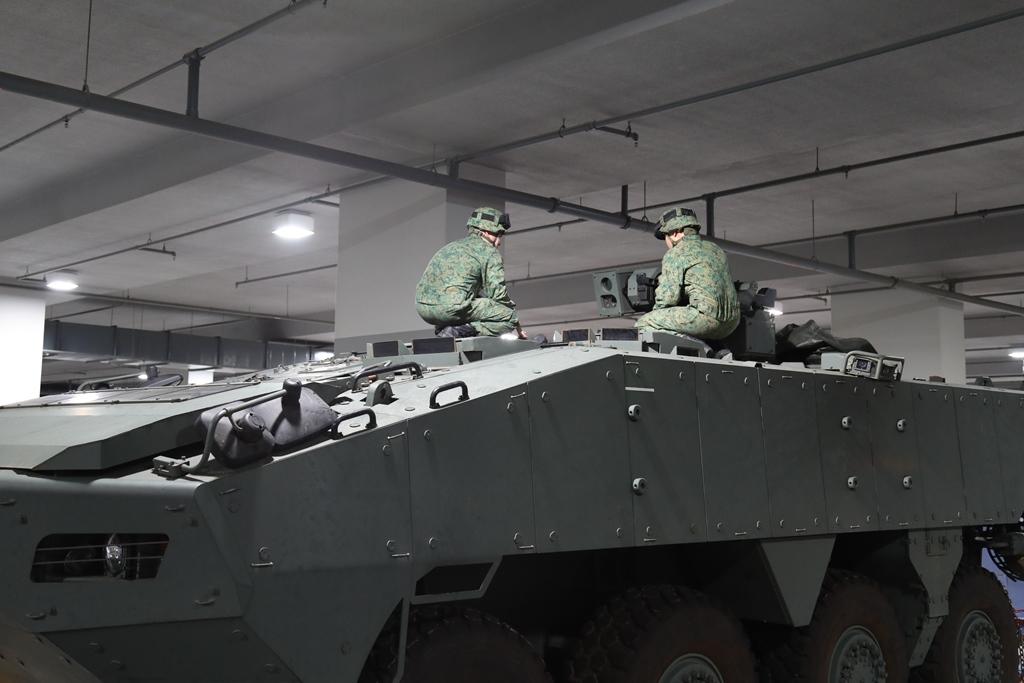 SAF personnel, Terrex ICVs