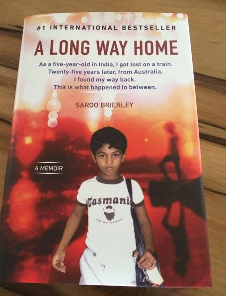 Saroo Brierley book - A long way home