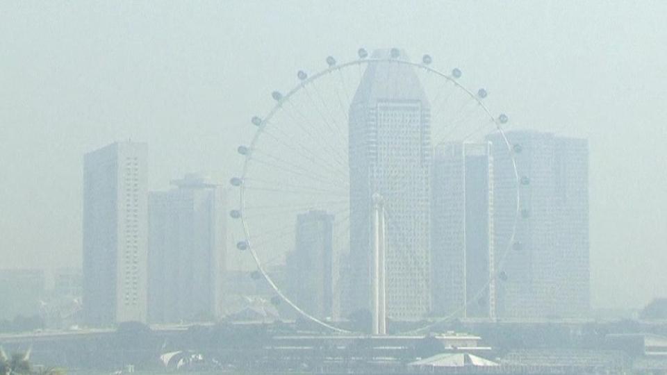 Haze problem in Singapore