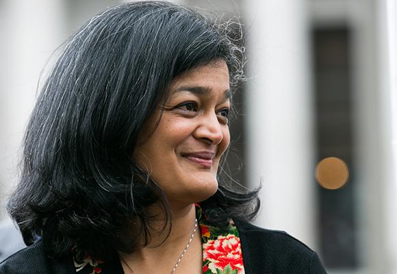 Indian-American Congresswoman Pramila Jayapal