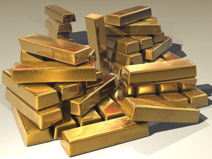 Gold bars worth SGD 126,000 million