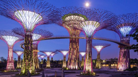 garden by the bay - Garden By The Bay At Night