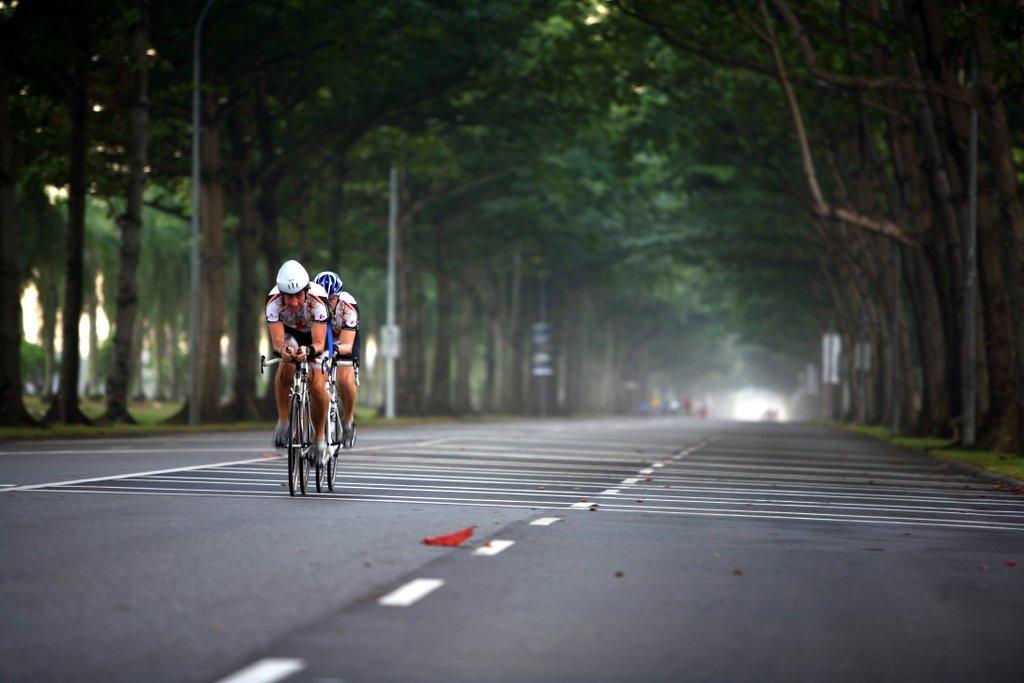 Tanah Merah Coast Road in Singapore