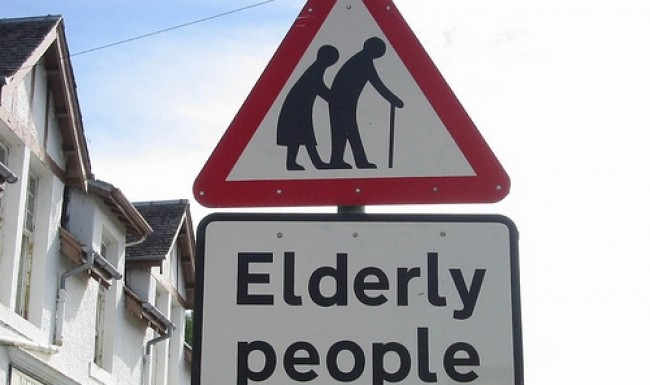 Elderly people in Singapore