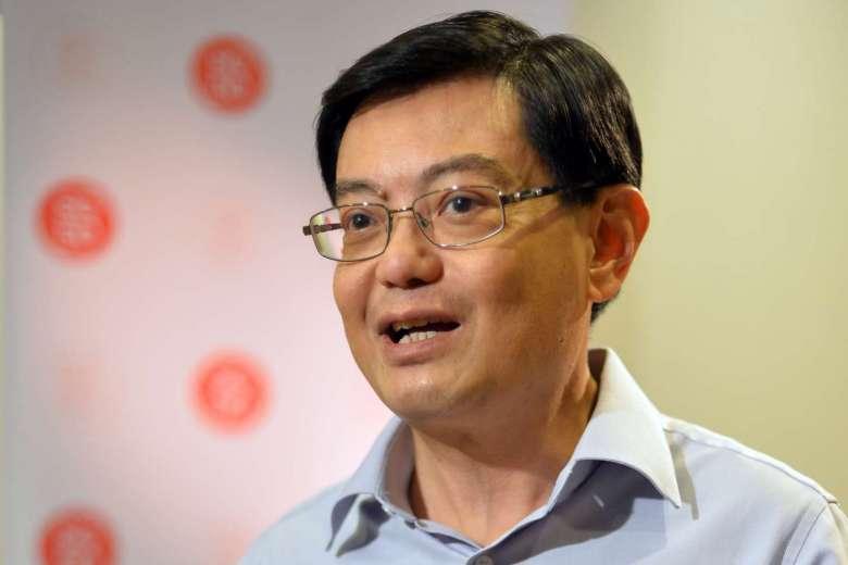 Finance Minister Heng Swee Keat