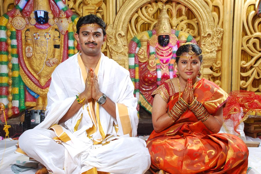 Srinivas Kuchibholta and Sunayana Dumala wedding
