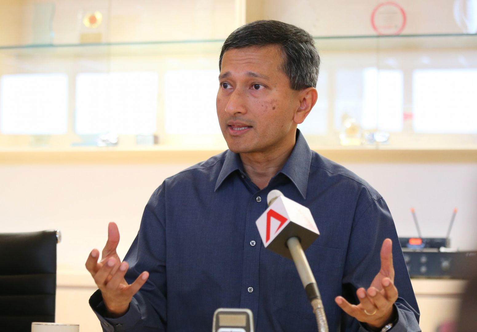 Dr Vivian Balakrishnan, Minister-in-charge of the Smart Nation Programme Office in Singapore