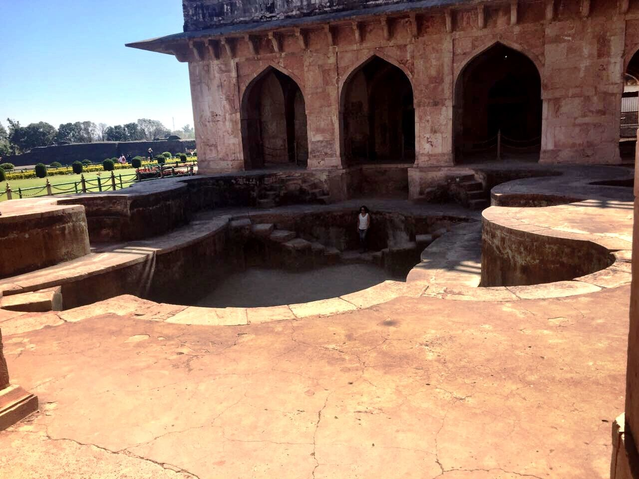One of the Pleasure pools of the Sultan and his ladies