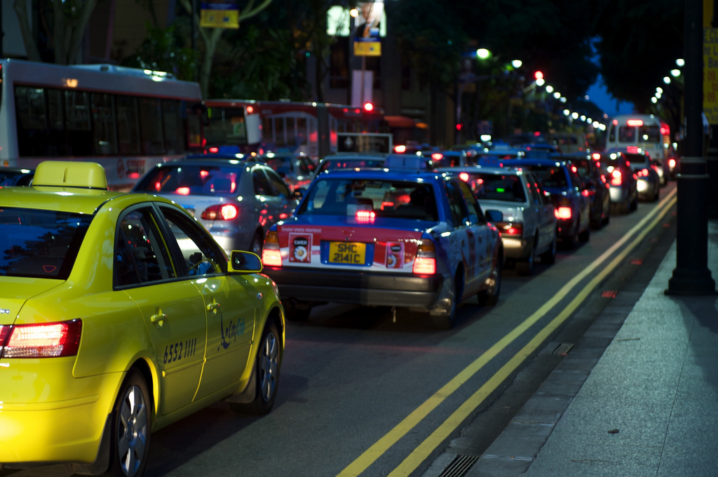 Yellow taxis are safer than blue ones, says science