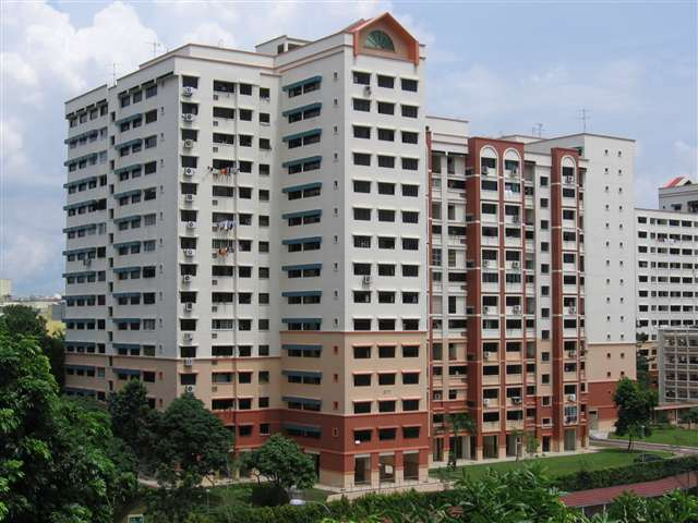 HDB flats are ideal for  young couples.
