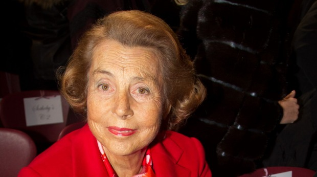 Liliane Bettencourt, L'Oreal.