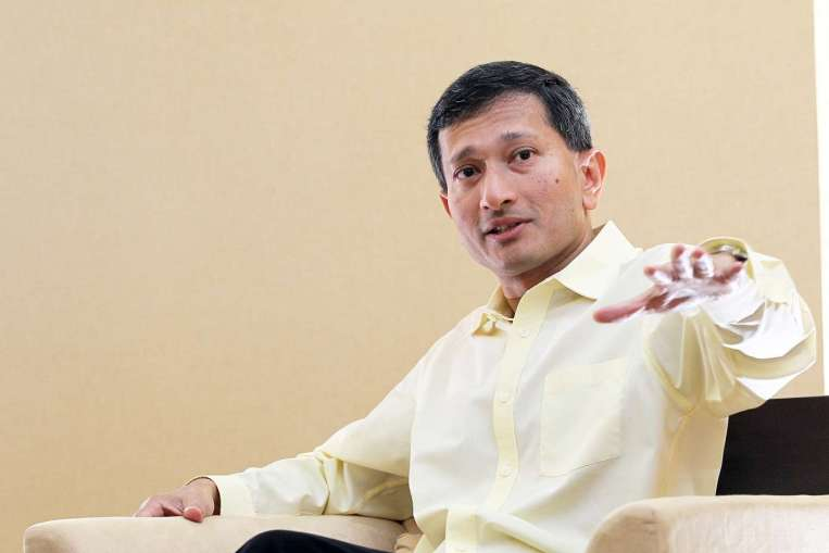 Dr Vivian Balakrishnan, Minister-in-charge of the Smart Nation Initiative. connectedtoindia