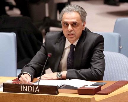 Syed Akbaruddin, India's Permanent Representative to the UN