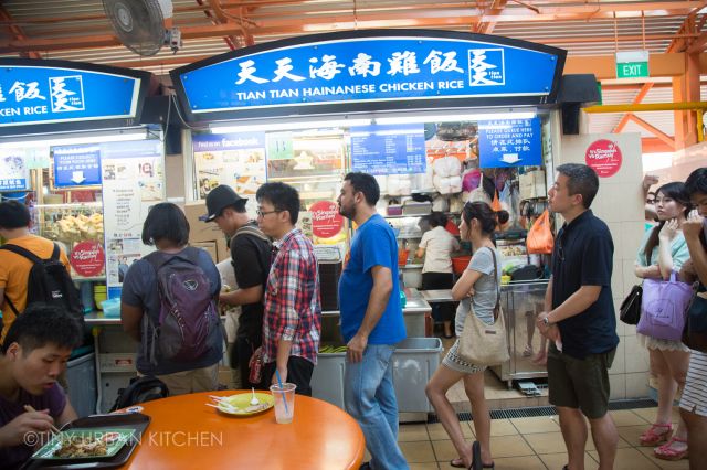 tian tian hainanese chicken rice,connectedtoindia,maxwell food centre