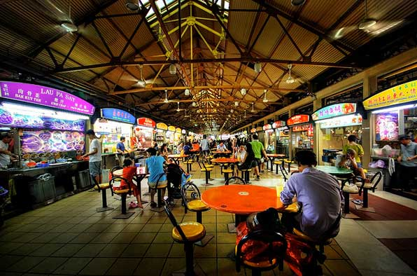 Maxwell Food Centre. Photo courtesy: thebestsingapore.com