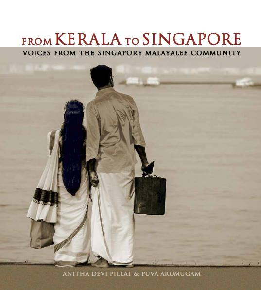 Book titled 'From Kerala to Singapore: Voices from the Singapore Malayalee Community'