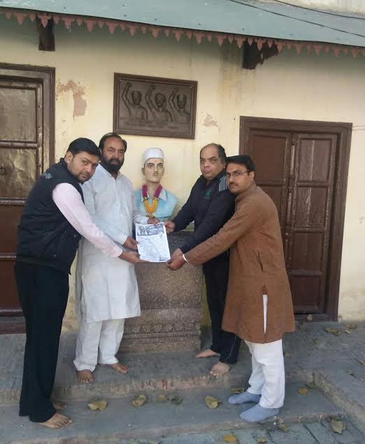 Ashok Thapar, president of Shaheed Sukhdev Thapar Memorial Trust