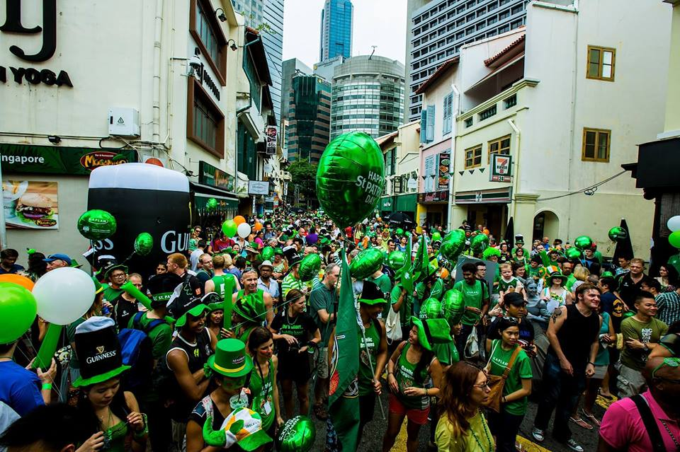 Photo courtesy: St Patrick's Day Singapore Facebook