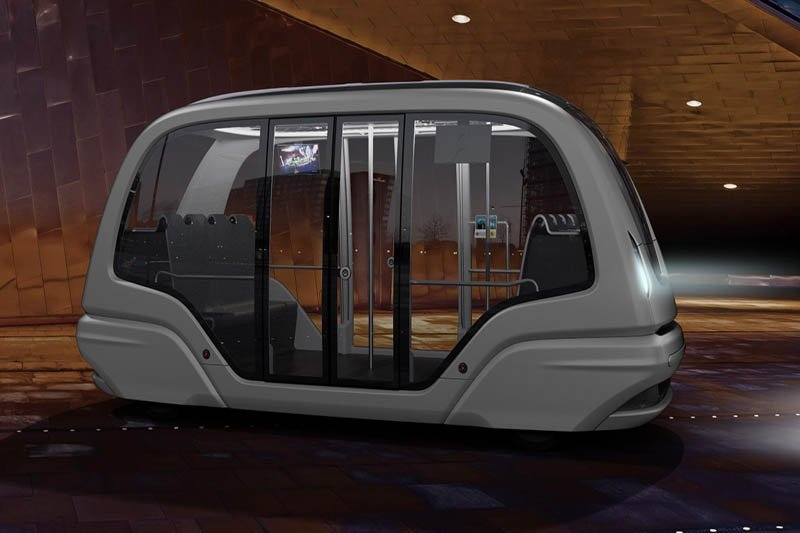 Driverless vehicle on trial in Dubai