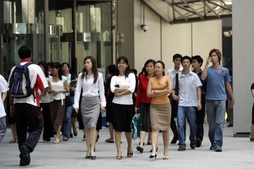 Singaporean government will help employers through Wage Credit Scheme.