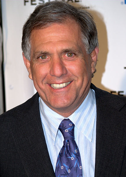 Leslie Moonves, chief executive of CBS