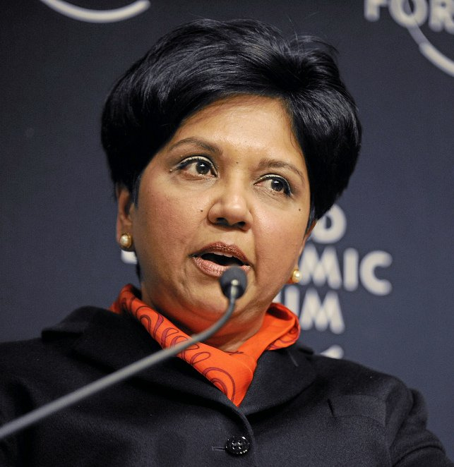 PepsiCo chief executive officer Indra Nooyi
