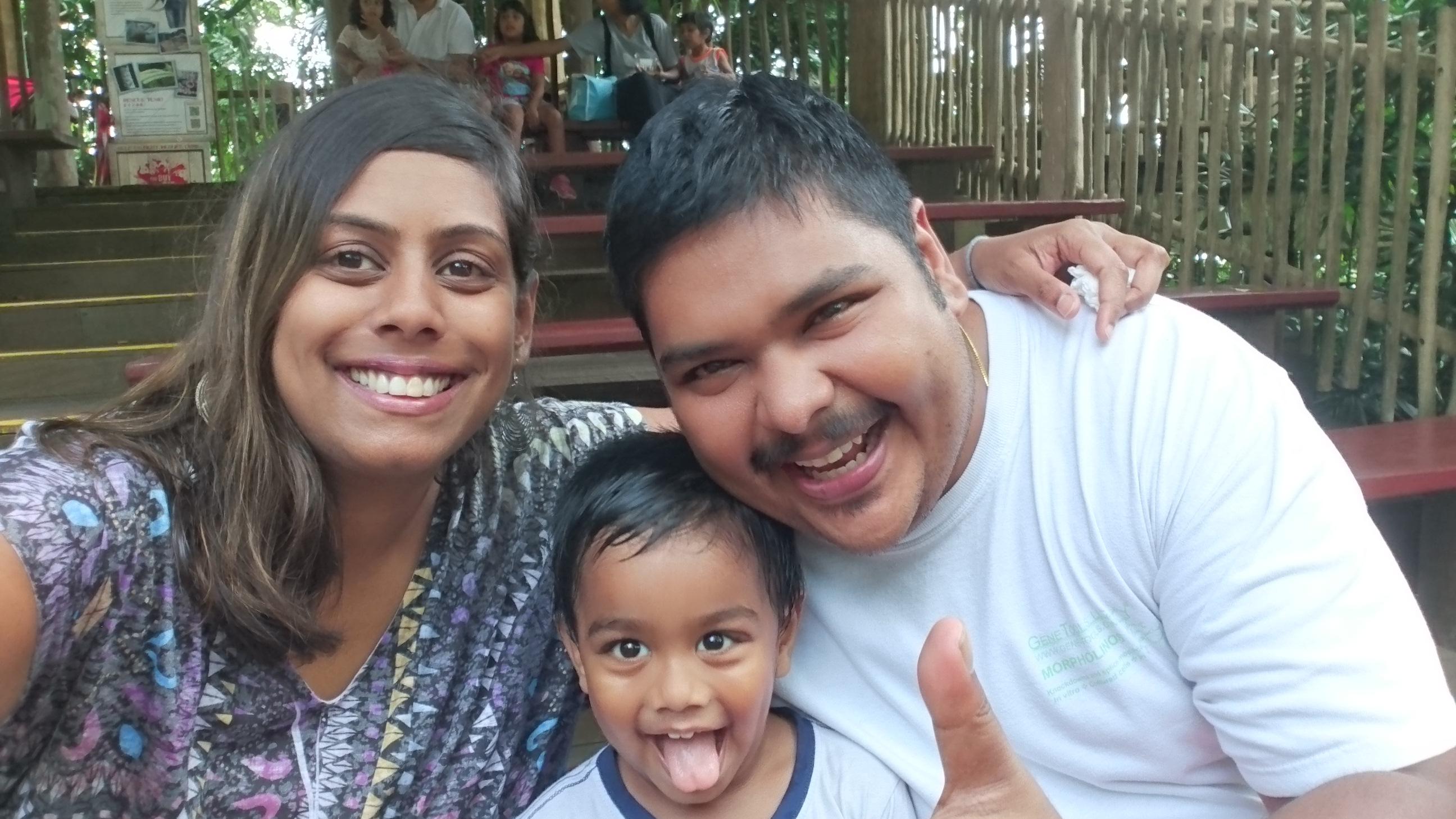 Saravanan Manorkorum and Amutha