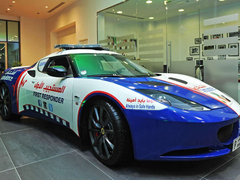 Dubai, world's quickest ambulance