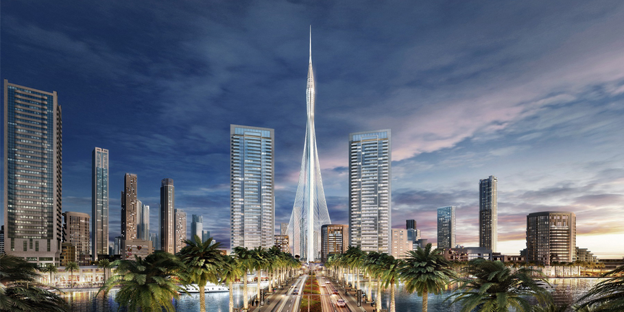 The Tower' is being built at a cost of USD1 billion
