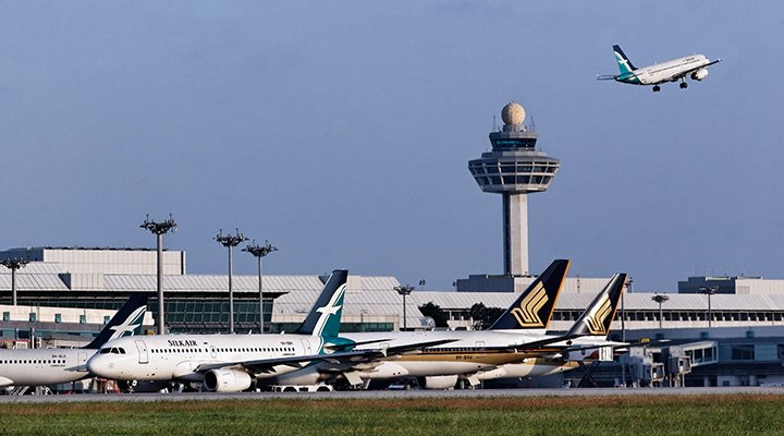 Changi Airport, Traffic from India is 14 per cent