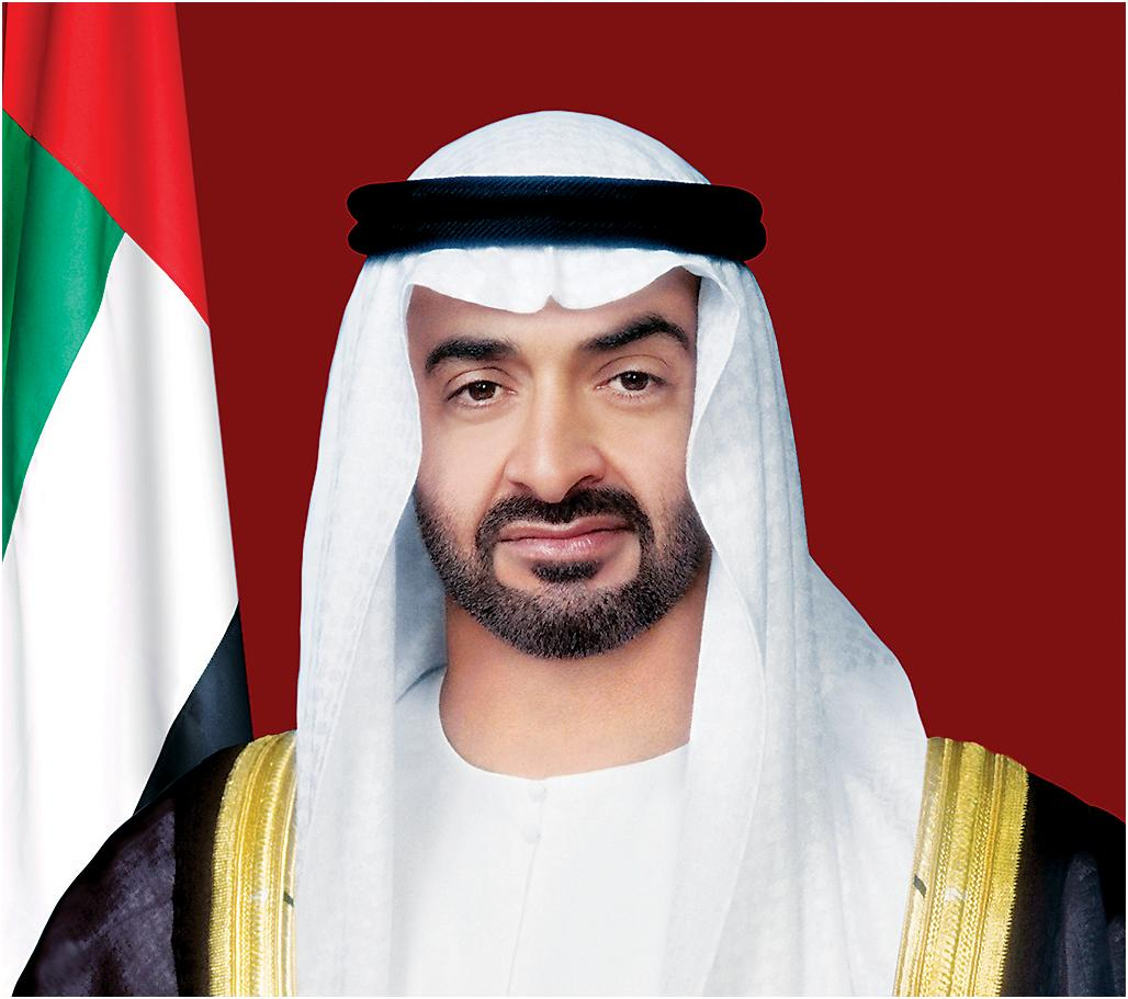 Sheikh Mohamed bin Zayed Al Nahyan, Crown Prince of Abu Dhabi.