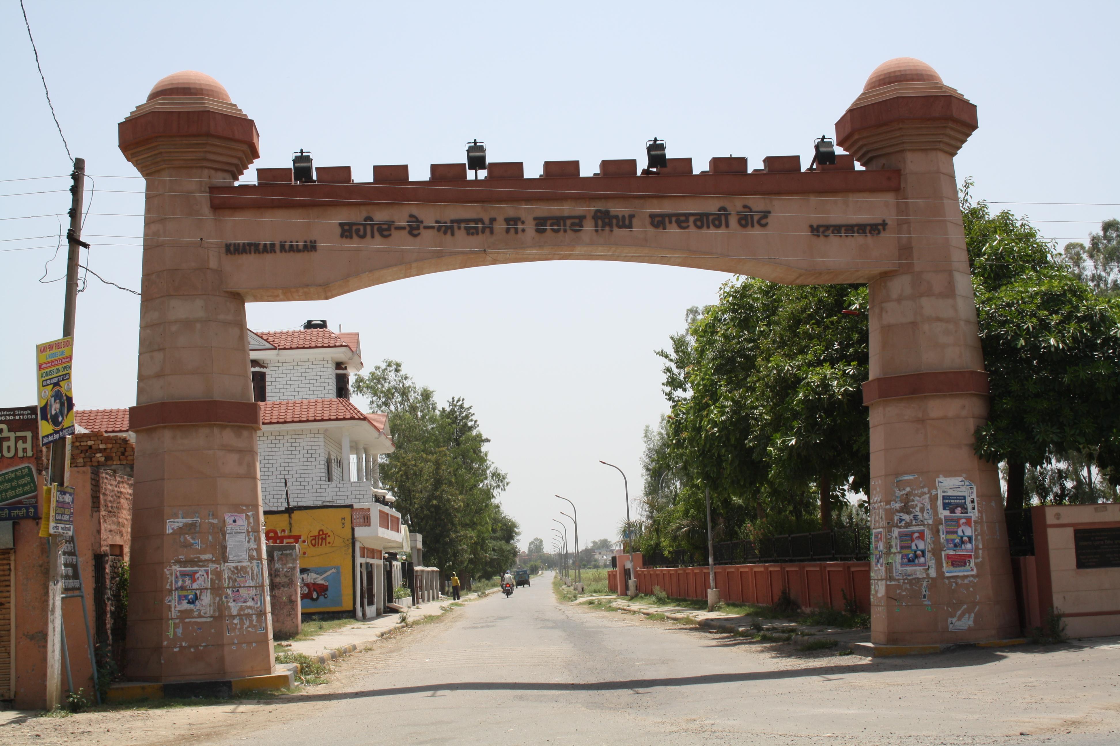 Khatkar Khalan, Bhagat Singh's ancestral home town.