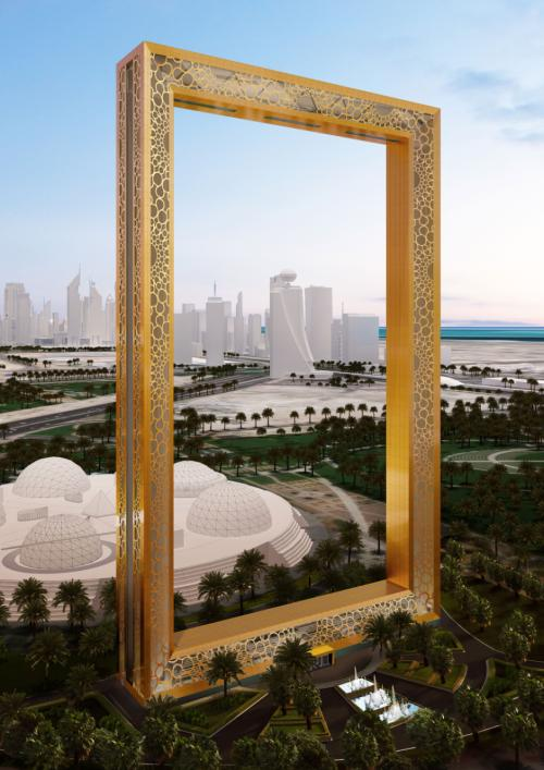 Dubai Frame will become the new icon of Dubai.