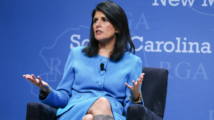 Indian-American Nikki Haley