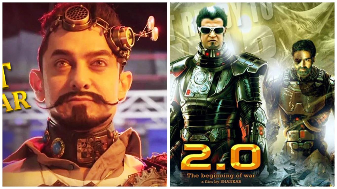 Aamir Khan's 'Secret Superstar' and Rajinikanth's '2.0' set to clash on Diwali