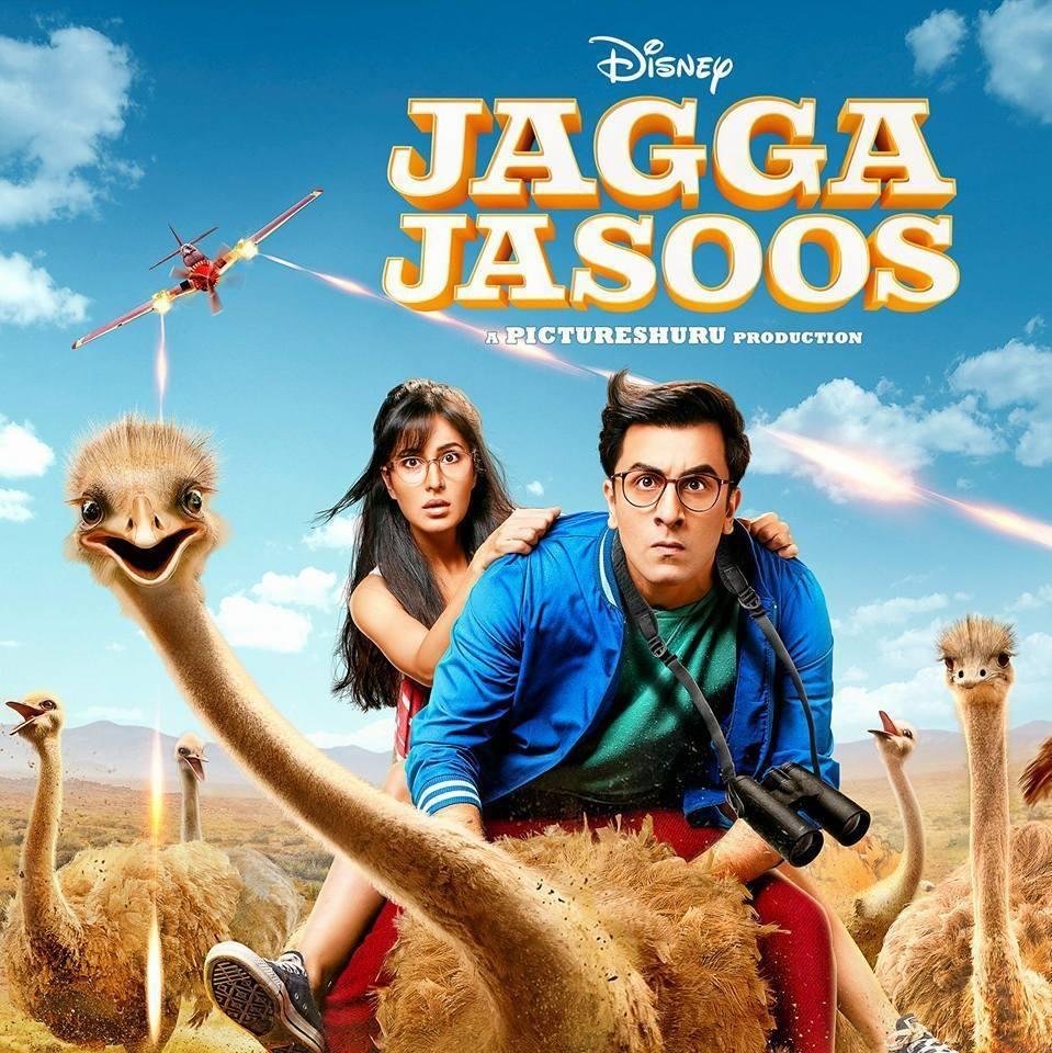 Jagga Jasoos poster.