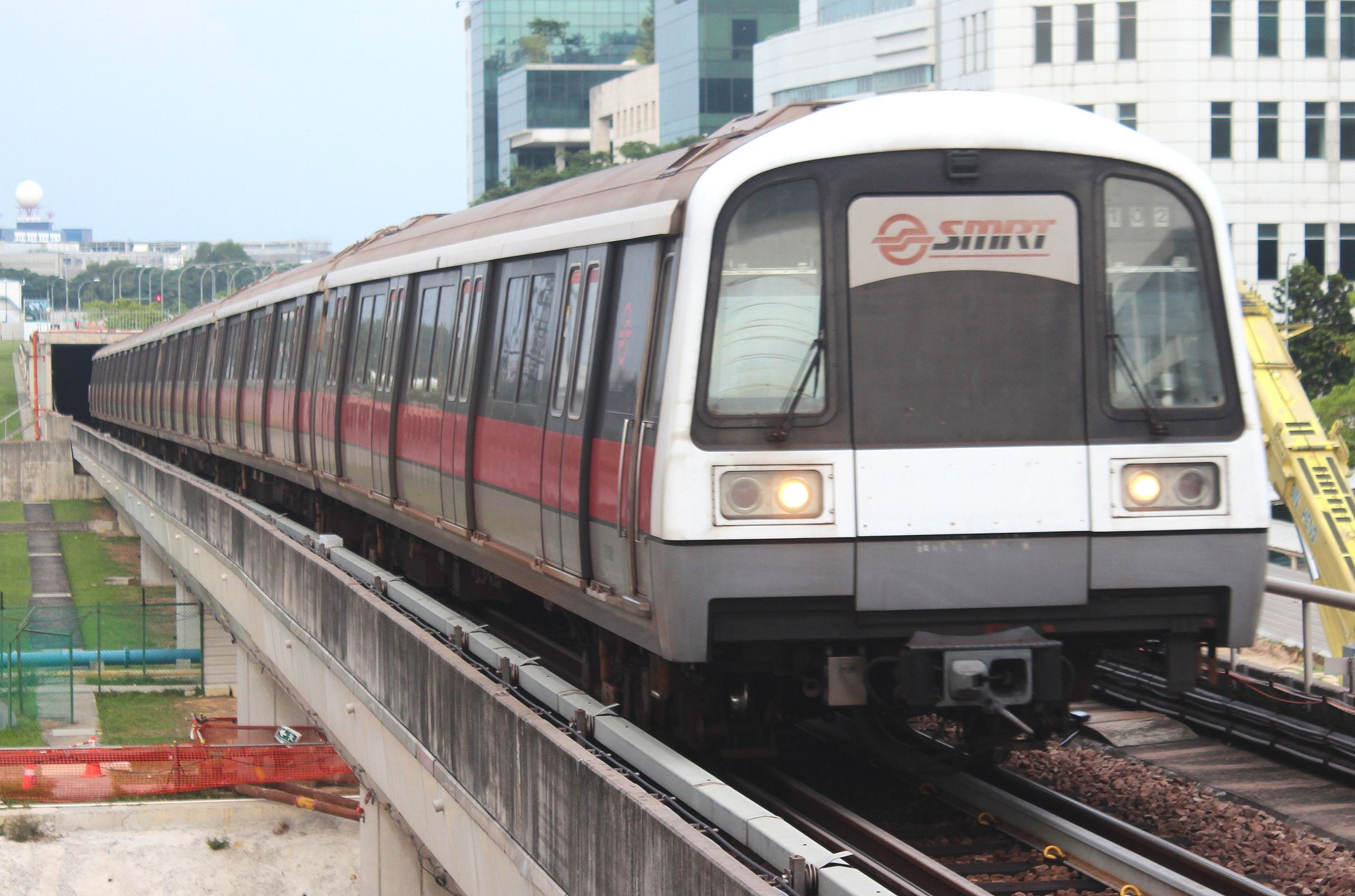 SMRT trains are the virtual lifelines for Singaporean people.