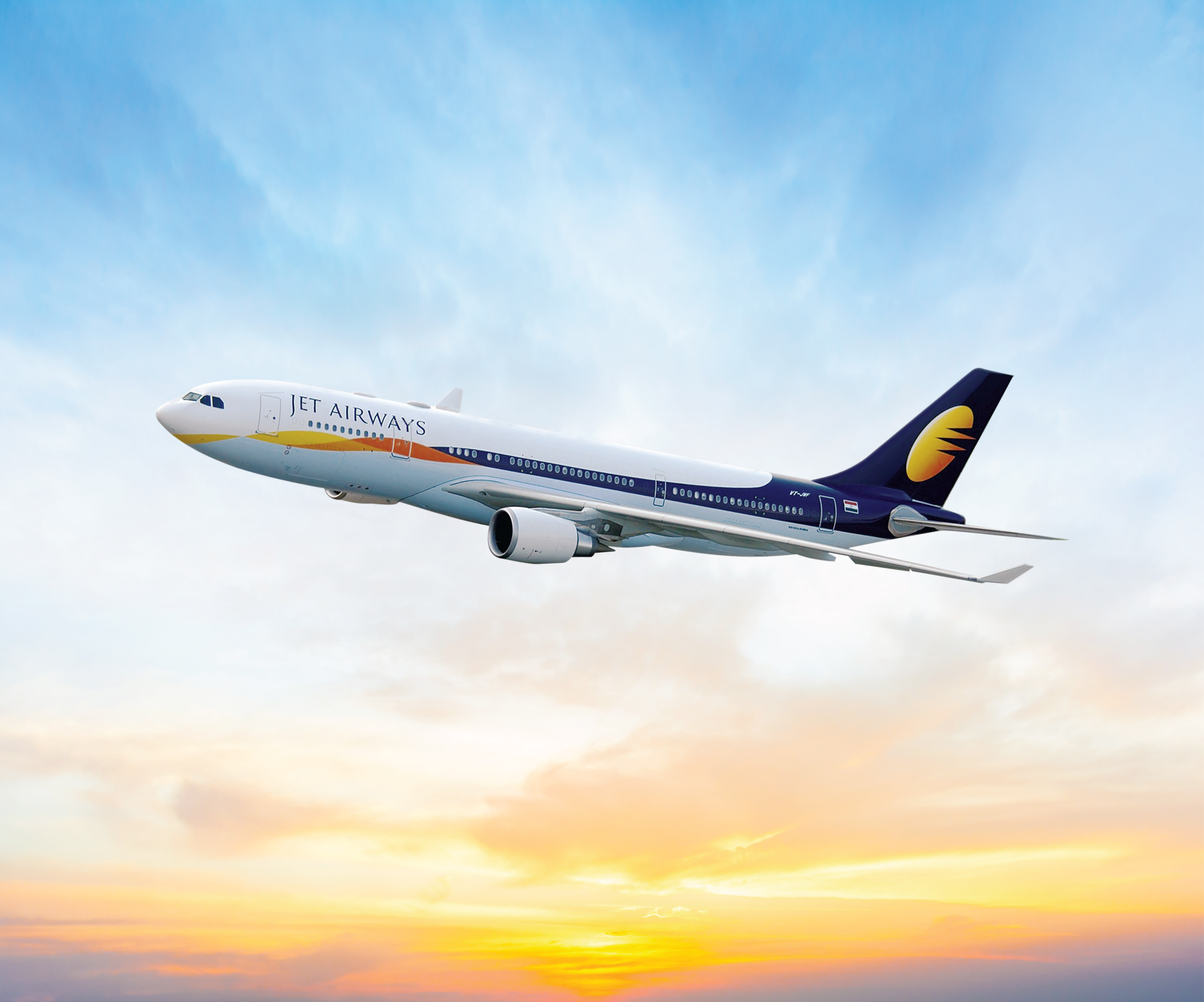 Jet Airways was chosen as the best airline by customer reviews.