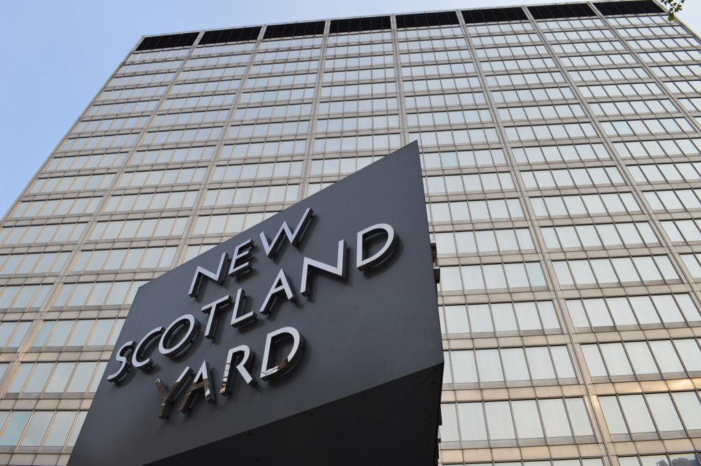 New Scotland Yard headquarters.