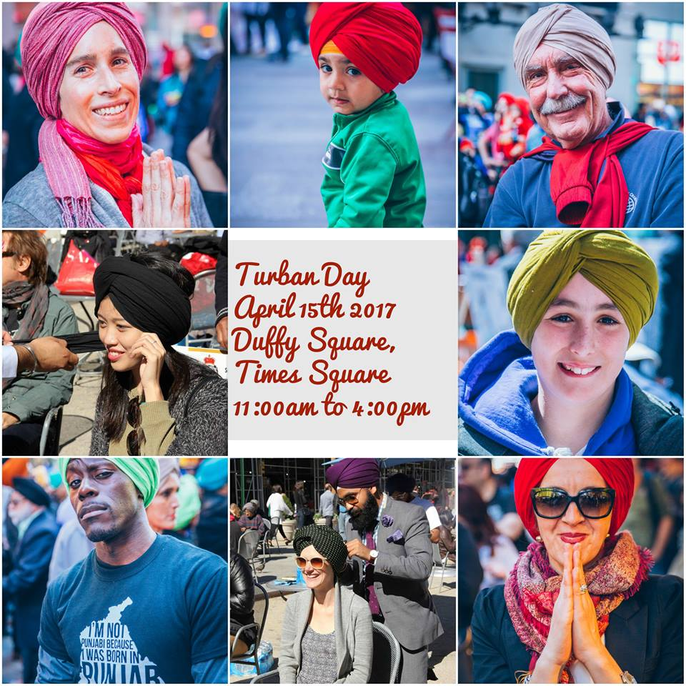 The Sikhs of New York celebrated Turban Day