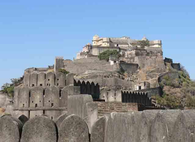 Kumbhalgarh fort Udaipur Rajasthan